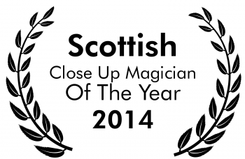 Scottish magician of the year 2014
